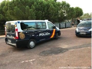 Policía Nacional en la Feria de Jaén