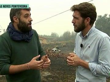 Nacho Carretero con Gonzo