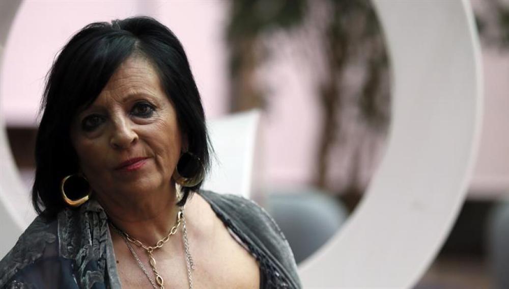 Pilar Abel durante una entrevista concedida a la Agencia Efe