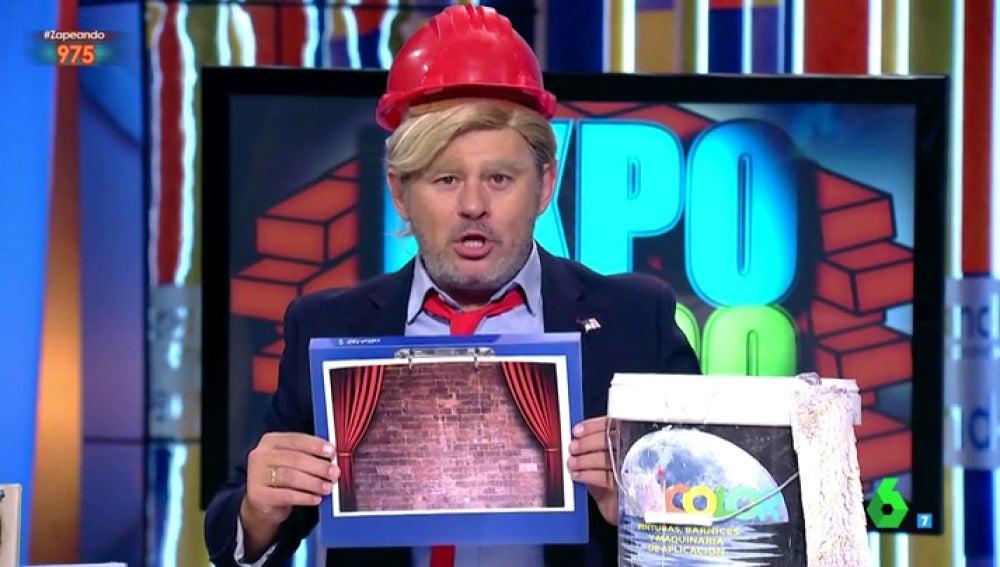 Paco Trump tipos de muro