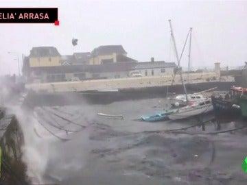 El partido entre el Manchester City y el Nápoles en duda por el huracán 'Ophelia'