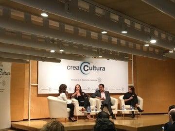 Foro sobre blockchain, organizado por CreaCultura (AtresMedia)