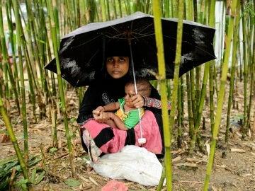 El 60% de los refugiados son niños
