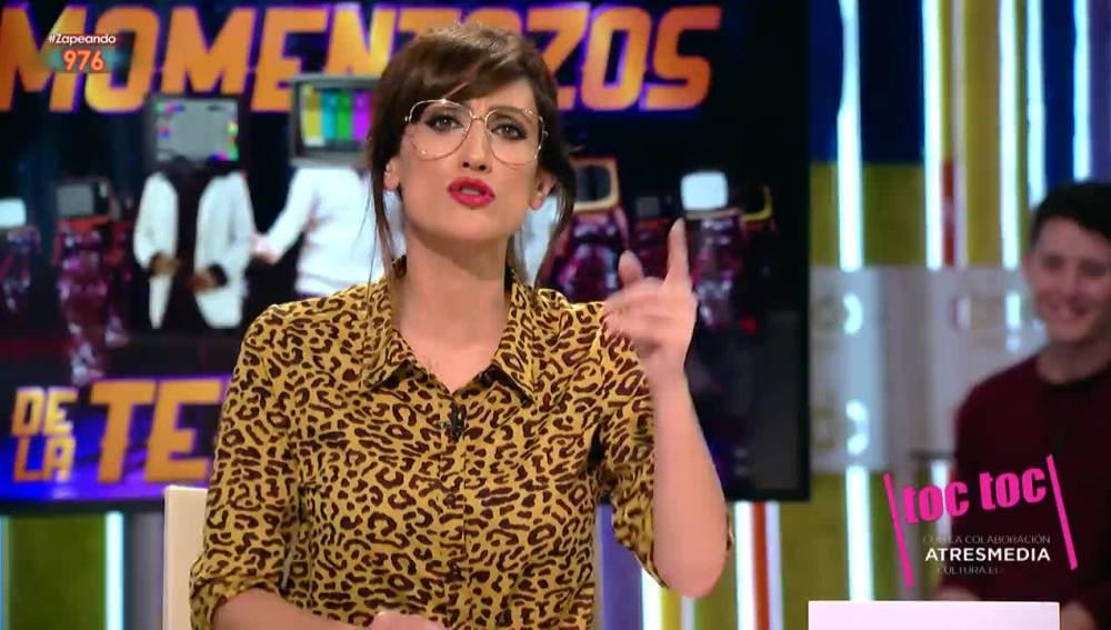 Ana Morgade crea su propia república independiente de Zapeando