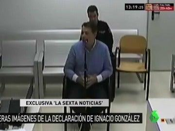 Ignacio González declara ante el juez Velasco