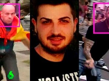 Los ultras detenidos por las agresiones del 9-O en Valencia