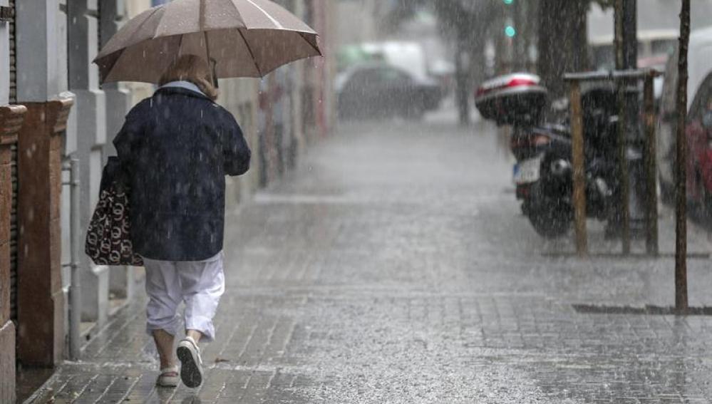 Lluvias generalizadas en España
