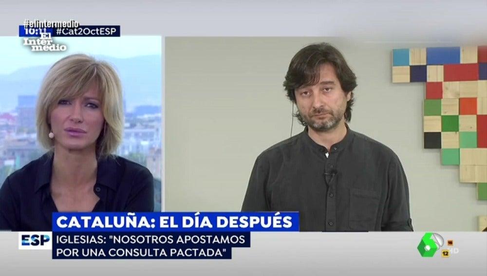 Rafa Mayoral y Susana Griso