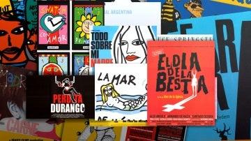 Carteles de Óscar Mariné