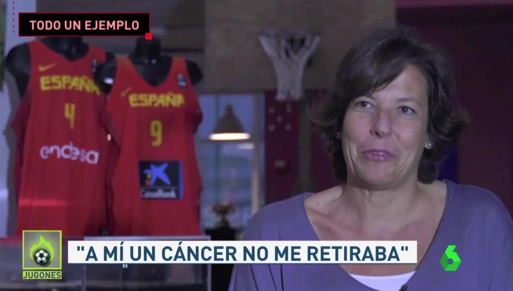 Laura Grande, exinternacional de la selección española de baloncesto