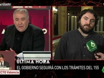 """Ferran Pedret: """"Parece que las dos partes estén buscando pretextos para aplicar el 155 o para declarar la independencia"""""""