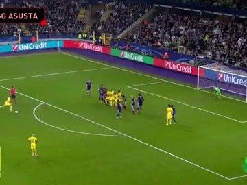 El golazo de falta de Neymar que recuerda a Ronaldinho
