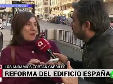 Los 'zascas' de José Antonio Masegosa en su búsqueda fallida de viandantes molestos en Madrid