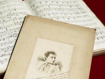 La partitura manuscrita de Maria Lluïsa Casagemas