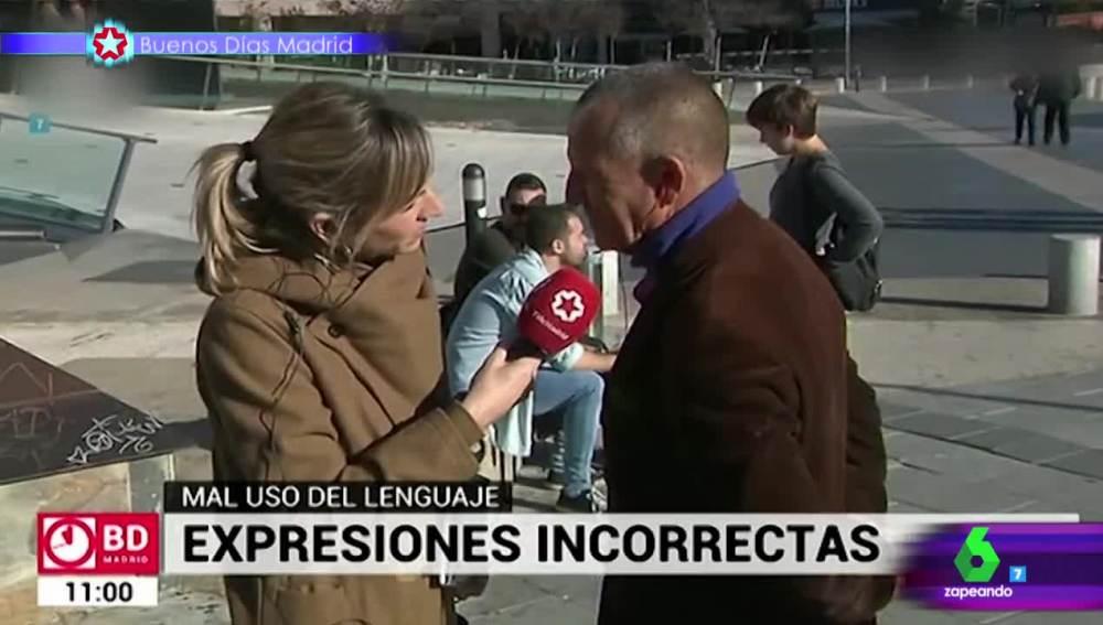 La desconcertante respuesta que dejó a la reportera Rebeca Marín sin palabras en una encuesta callejera