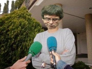 Meme de Carles Puigdemont