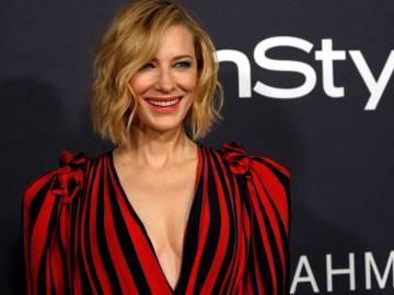 Cate Blanchett en los premios InStyle