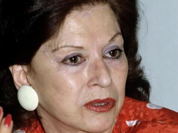 La trapecista Maria Cristina del Pino Segura
