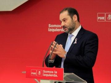 José Luis Ábalos en Ferraz