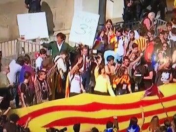 Álvaro de Marichalar, en la manifestación por la independencia de Cataluña