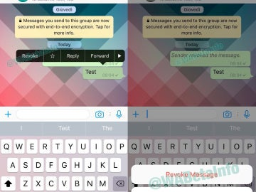 Whatsapp ya permite borrar mensajes