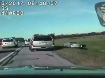 Un niño de diez años protagoniza una sorprendente persecución policial en una carretera de Ohio