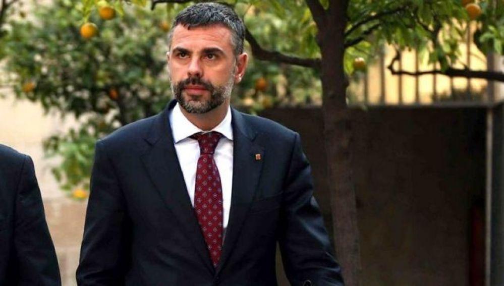 El exconseller de Empresa de la Generalitat Santi Vila