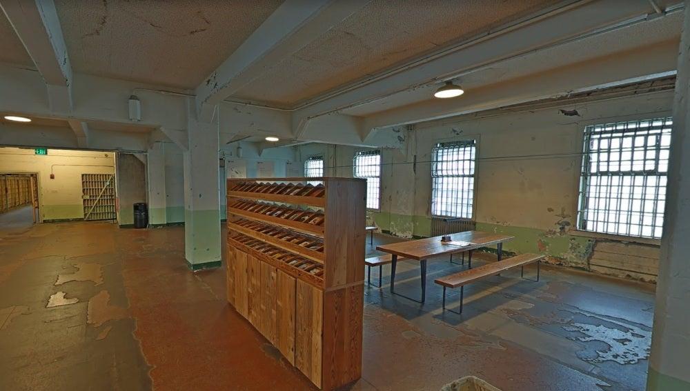 Comedor de la cárcel de Alcatraz