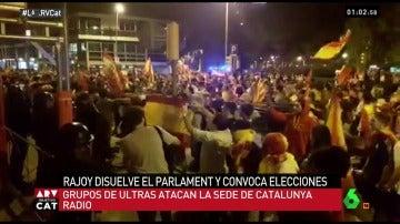 Ataque a la sede de Catalunya Radio