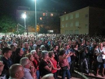 Manifestación a favor del soterramiento del AVE