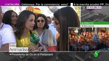 """Inés Arrimadas: """"Hay que salir a ganar las elecciones para recuperar la normalidad en nuestras instituciones"""""""