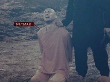 Neymar, protagonista del nuevo cartel de amenaza del ISIS al Mundial