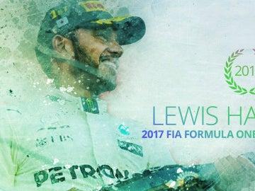 Hamilton, campeón del mundo de la F1 2017