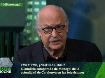 El crítico Ferran Monegal