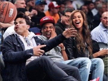 Averagerob con Beyoncé y Jay Z