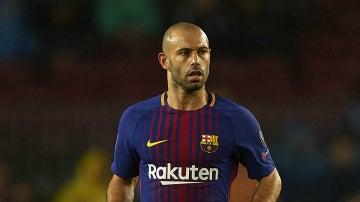 Mascherano, con el Barça