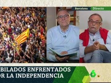 Los pensionistas, divididos ante la independencia de Cataluña