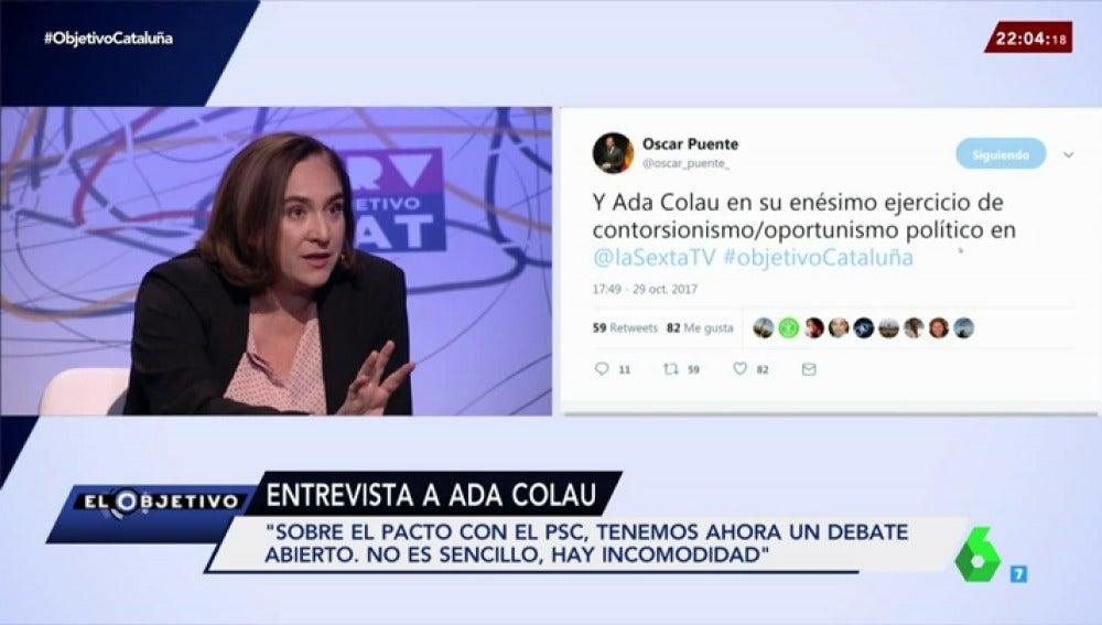 Ada Colau en El Objetivo