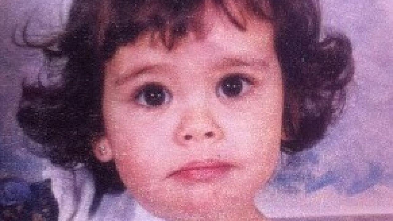 Cristina Pedroche de pequeña