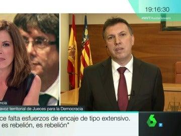 """Joaquim Bosch: """"El delito de rebelión exige una violencia relevante que en Cataluña no se ha producido"""""""