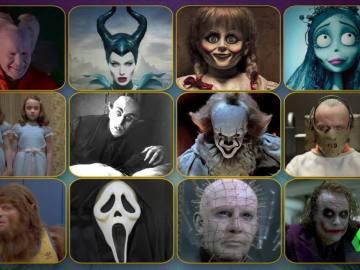 Seis de estos personajes estarán en Zapeando por Halloween