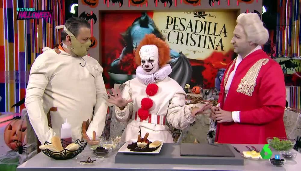 Cristina Pedroche cocina en 'Pesadilla con Cristina'