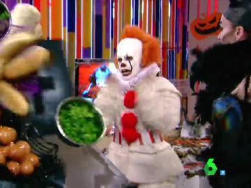 El susto de Cristina Pedroche en Halloween