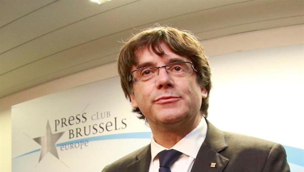 Resultado de imagen de puigdemont bruselas