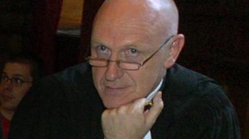 Fotografía de archivo del abogado belga Paul Bekaert