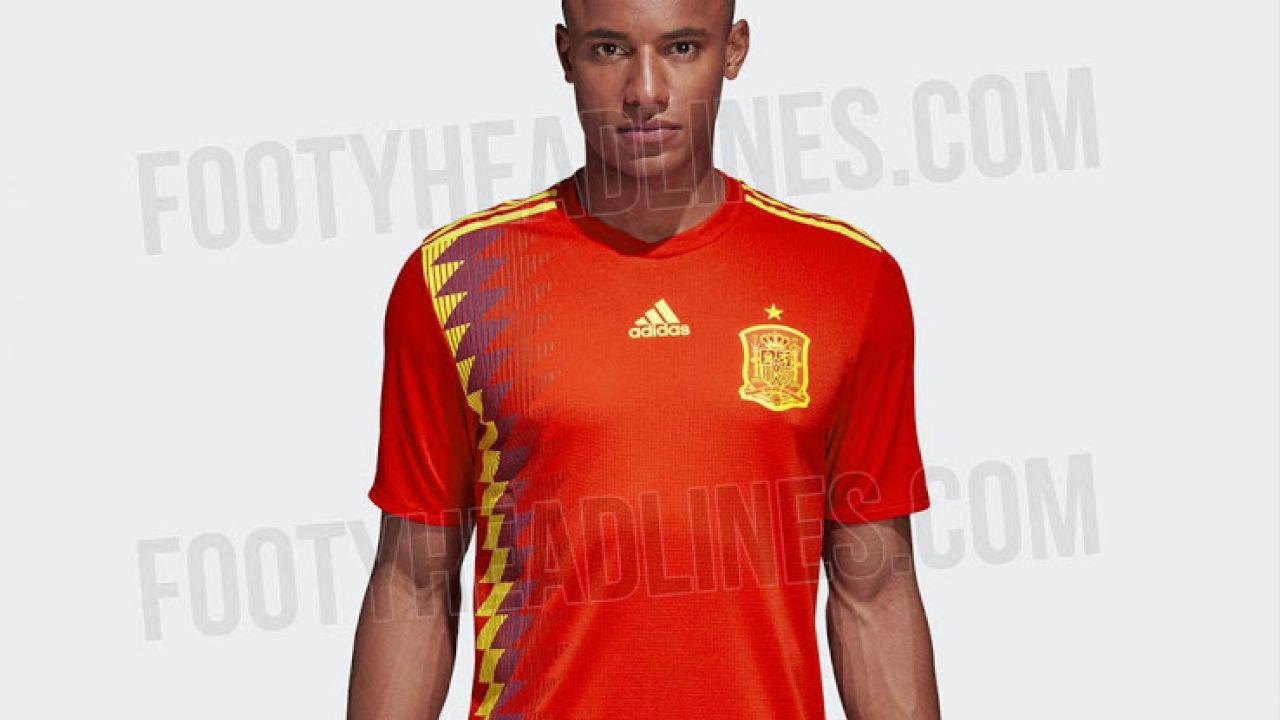 8c1a4260e475f Se filtra la posible camiseta de España para el Mundial de Rusia 2018