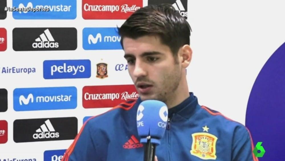Álvaro Morata, delantero del Chelsea
