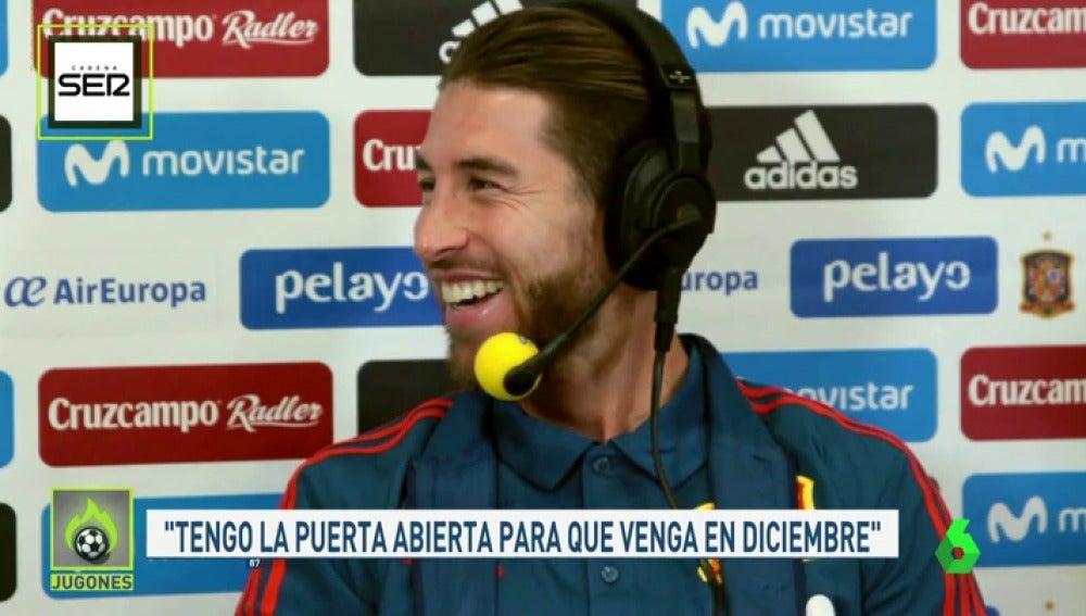 """Ramos: """"¿Neymar al Madrid? A mí me gusta tener a los mejores y Neymar es uno de ellos"""""""
