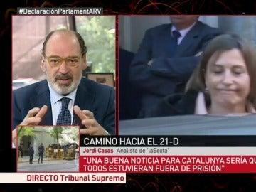 Jordi Casas, analista de laSexta