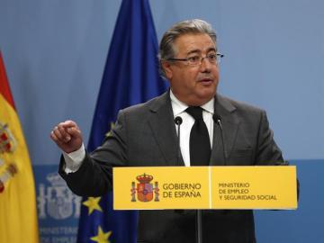 El ministro del Interior, Juan Ignacio Zoido, en una imagen de archivo